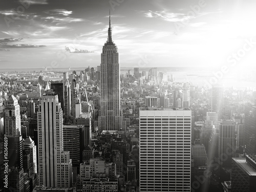 Foto op Canvas New York New York skyline