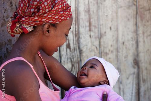 Fényképezés  African mother