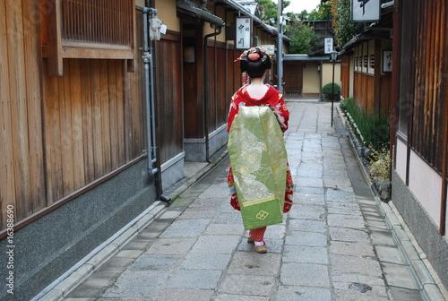 Papiers peints Kyoto 舞妓(後姿)