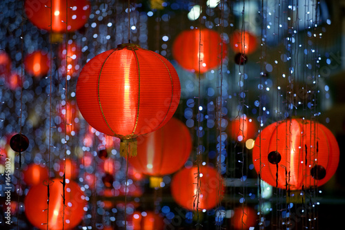 Foto op Canvas China chinese paper lantern