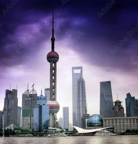 shanghai-skyline-chiny