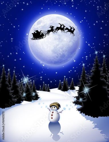 Photo Stands Draw Pupazzo di Neve-Magic Snowman-Bonhomme de Neige