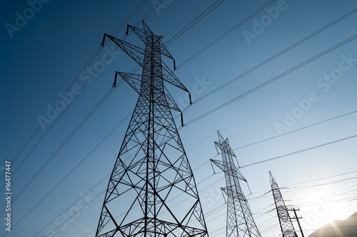 power lines Canvas-taulu