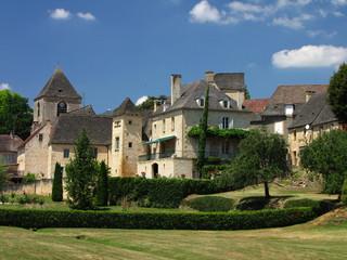 Fototapeta na wymiar Saint Geniès et son Château