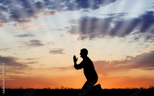 Photo Prayer at Sunrise/Sunset