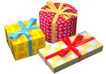 Geschenke Bunt