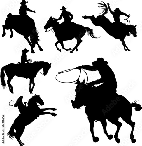 Printed kitchen splashbacks Fairytale World Cowboys