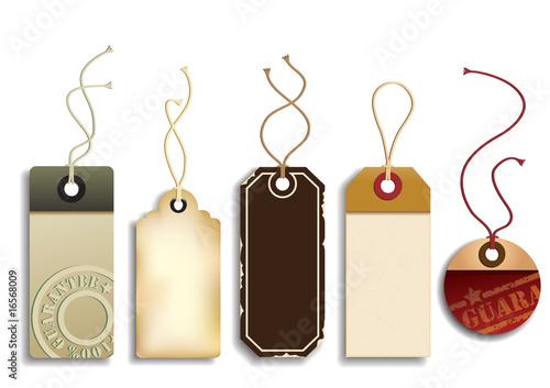 Fotografía  Cardboard Sales Tags