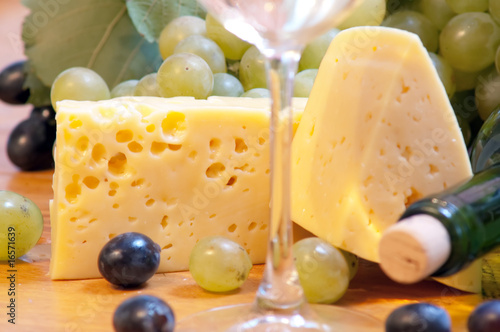 Spoed Foto op Canvas Chocolade Wine composition