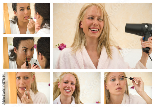 Maquillage et soins du visage Fototapete