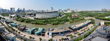 Panorama Of Shanghai, View Fro...