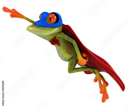 Photo Super grenouille