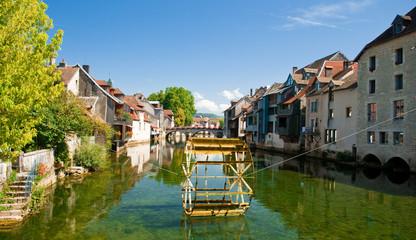 Fototapeta na wymiar Ornans, Franche-Comté