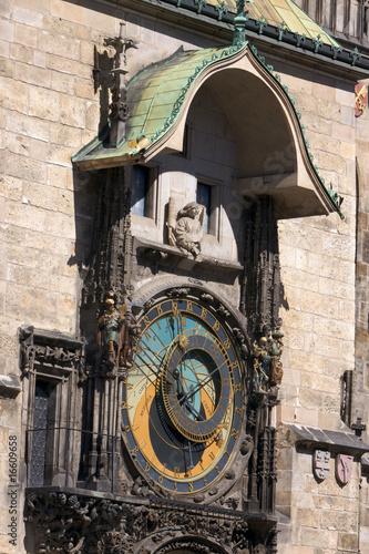 Photo Stands Prague orologio solare.