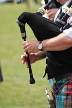 Bagpipers Hands