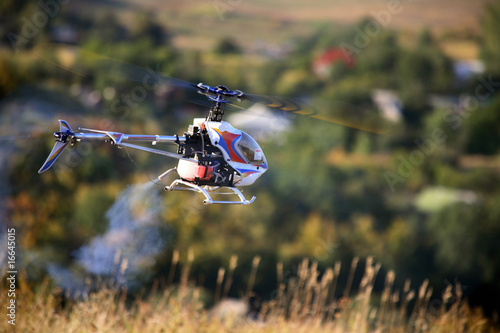 Poster Helicopter Radio controlled helicopter fly