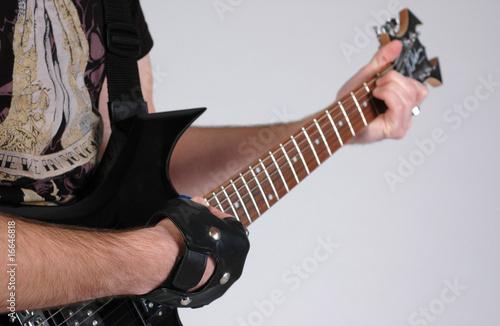 Photo gitarre spielen