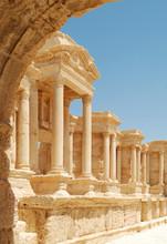 Theatre In Palmyra - Syria