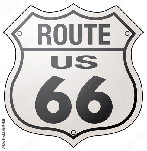 Photo  Historic Route 66 Sign