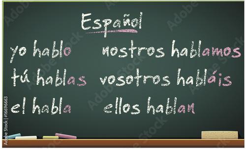Cursos de español ( conjugación)
