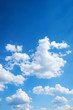 ..colorful bright blue sky background