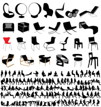 Chairs And People Collection