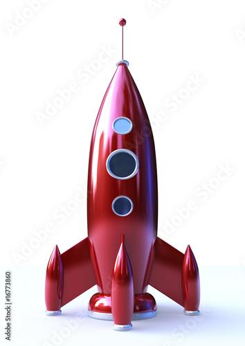 Fotografie, Obraz  Red Missile