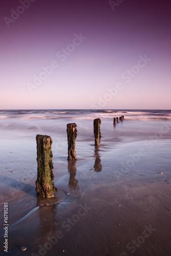 Foto-Kissen - Youghal Beach... (von Tomasz Grzelaczyk)