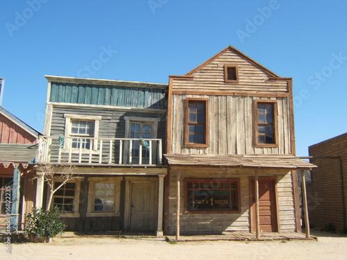 Photo  maison de western