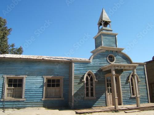Photo  église de western