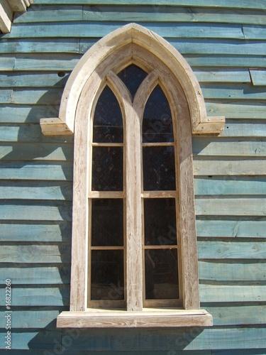 Photo  fenêtre d'église de western