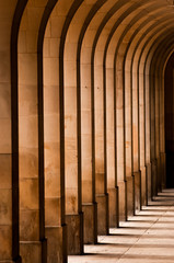 Fototapeta columns