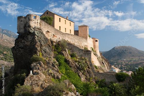 Fotografie, Obraz  Castle of Corte, Corse