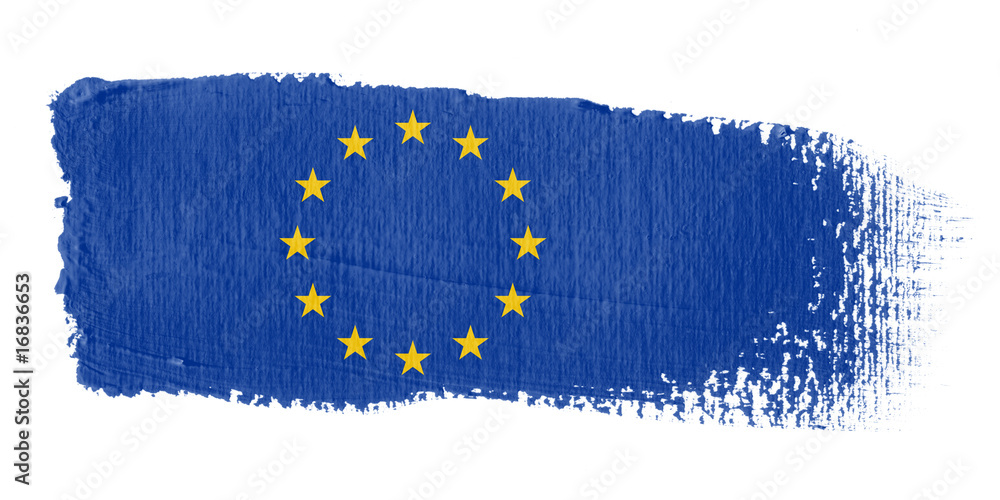 Fototapeta bandiera Europa