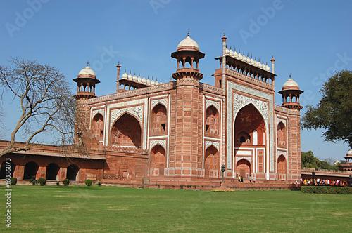 Printed kitchen splashbacks Delhi Entrance Gate of Taj Mahal