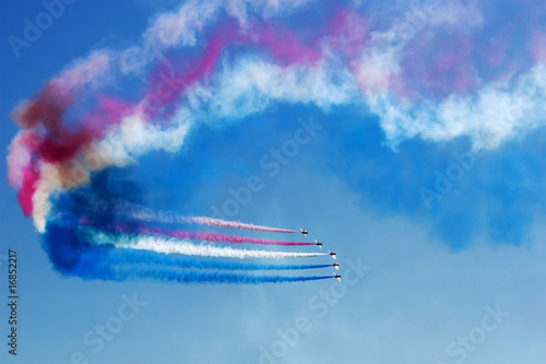 Fotografija  Aerobatics Team at Airshow