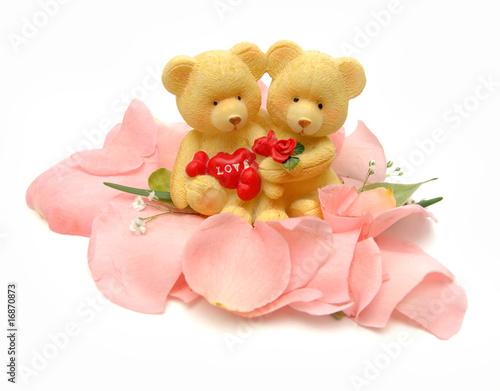 Photo  Valentines teddy bears