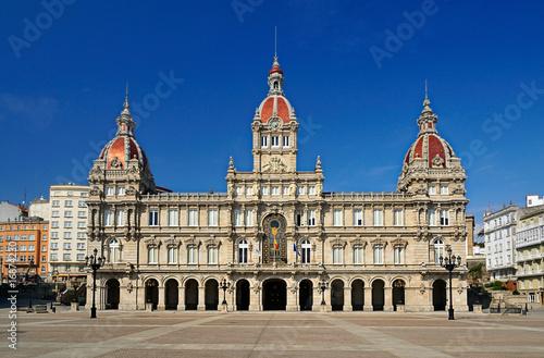 Ayuntamiento de La Coruña (Galicia-Spain)