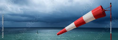 Tablou Canvas vent tempête météo manche air mer océan bâteau voilier naviguer