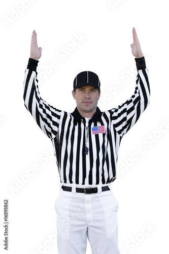Fotografering  Touchdown Referee