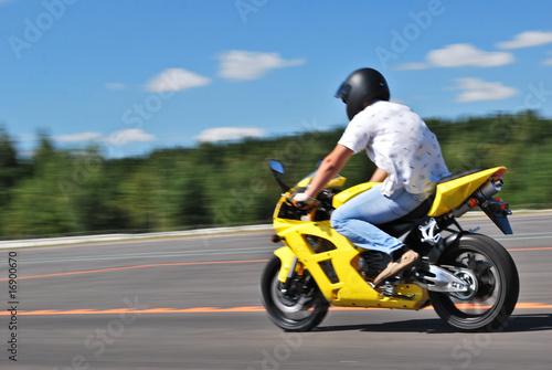 Photo  motorcycle