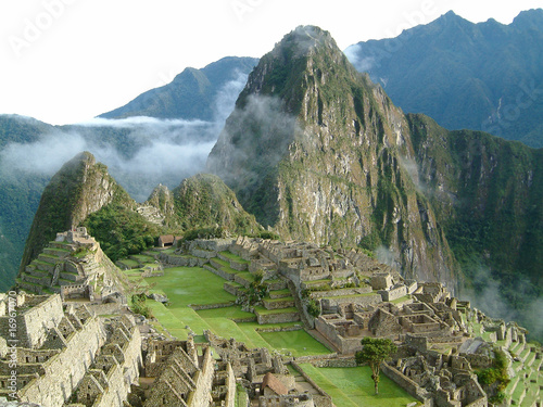 Photo Stands South America Country Machu Picchu, Peru
