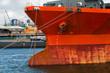 Ship on a berth