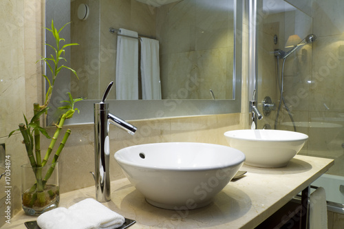 Fotografia, Obraz  Design of a bathroom