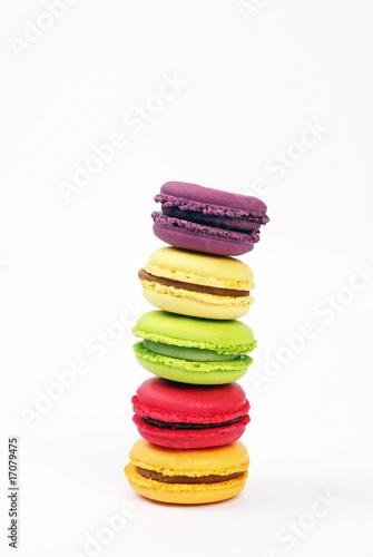 Tour de Pise de macarons aux parfums variés