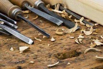 utensili per cesellare il legno 2