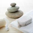 galet en équilibre gombo pierre ponce