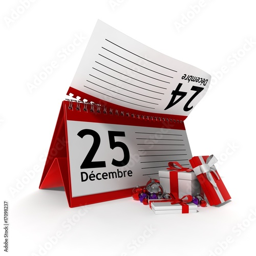 Illustration Calendrier.Calendrier 25 Decembre Buy This Stock Illustration And