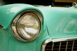 Old Green Car 1