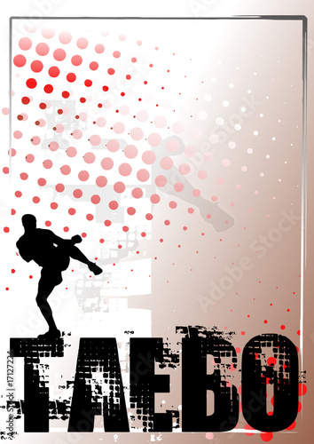 Photo  taebo silver poster background 2